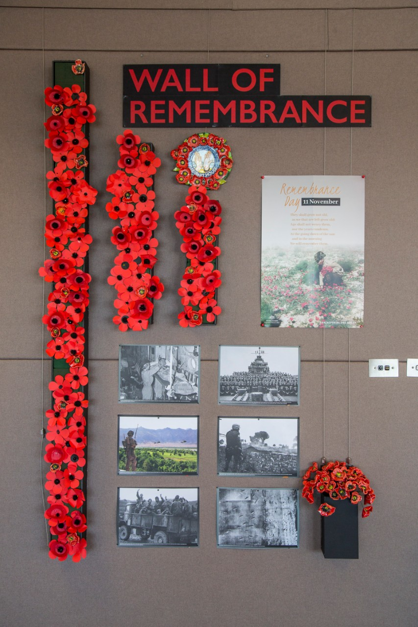 Remembrance Day wall